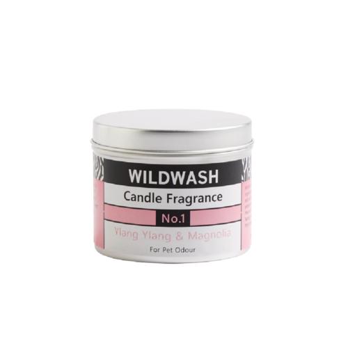 WildWash一號香氛蠟燭(伊蘭伊蘭、玉蘭)190g