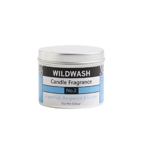 WildWash二號香氛蠟燭(葡萄柚、佛手柑、薑)190g