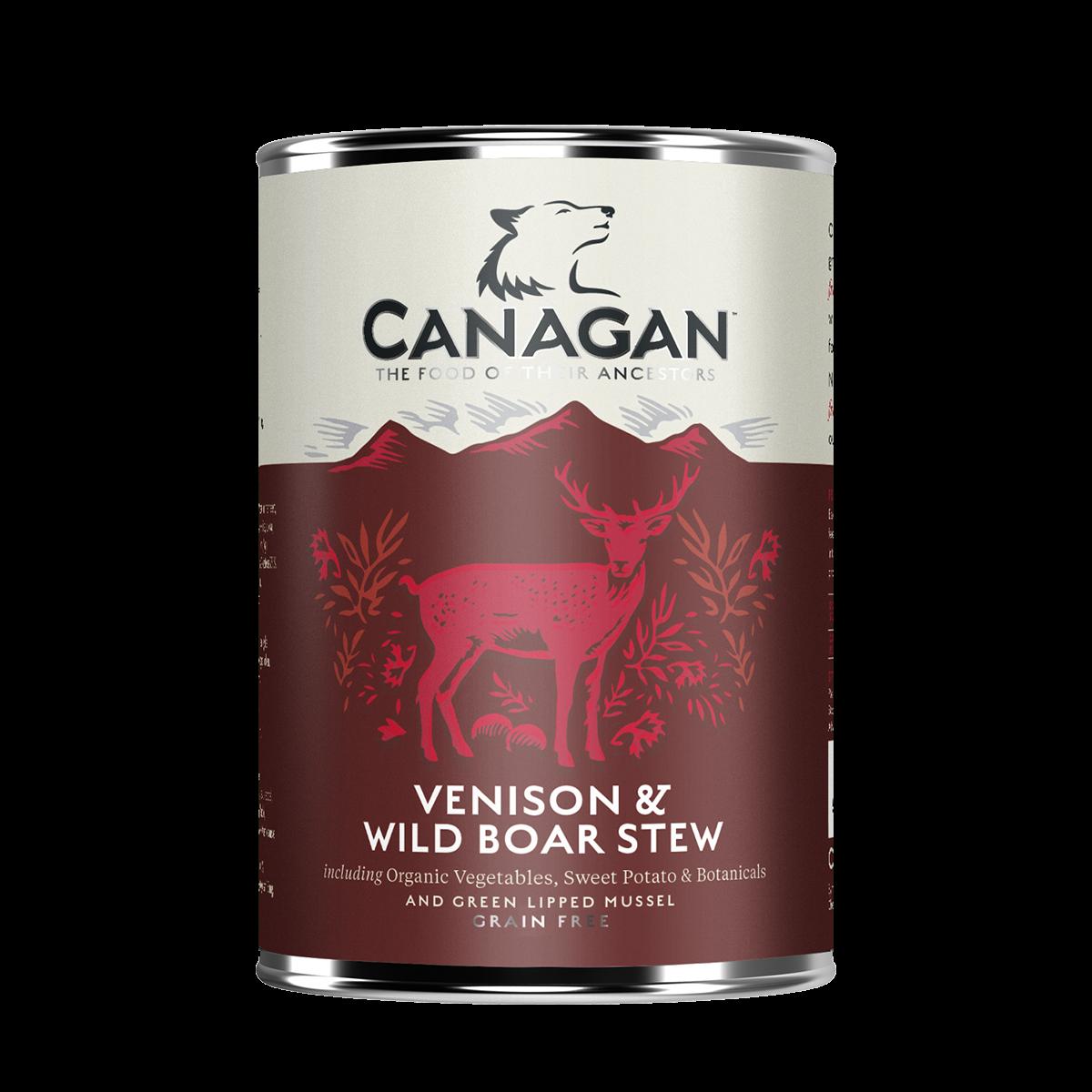 卡納根鹿肉與野豬燉罐