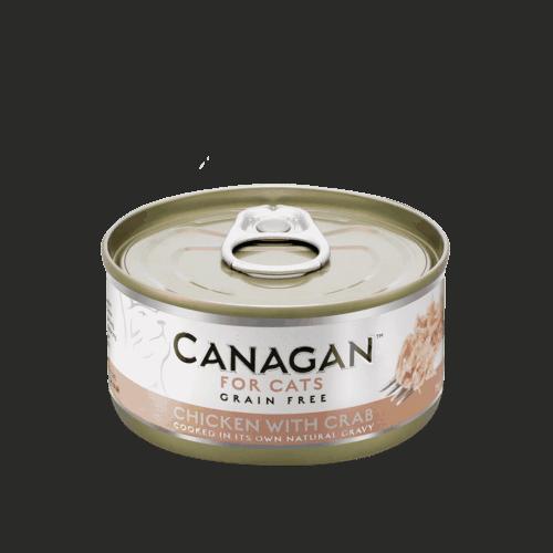 卡納根雞肉佐蟹肉(貓)75gx12入