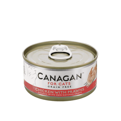 卡納根雞肉佐蝦(貓)75gx12入